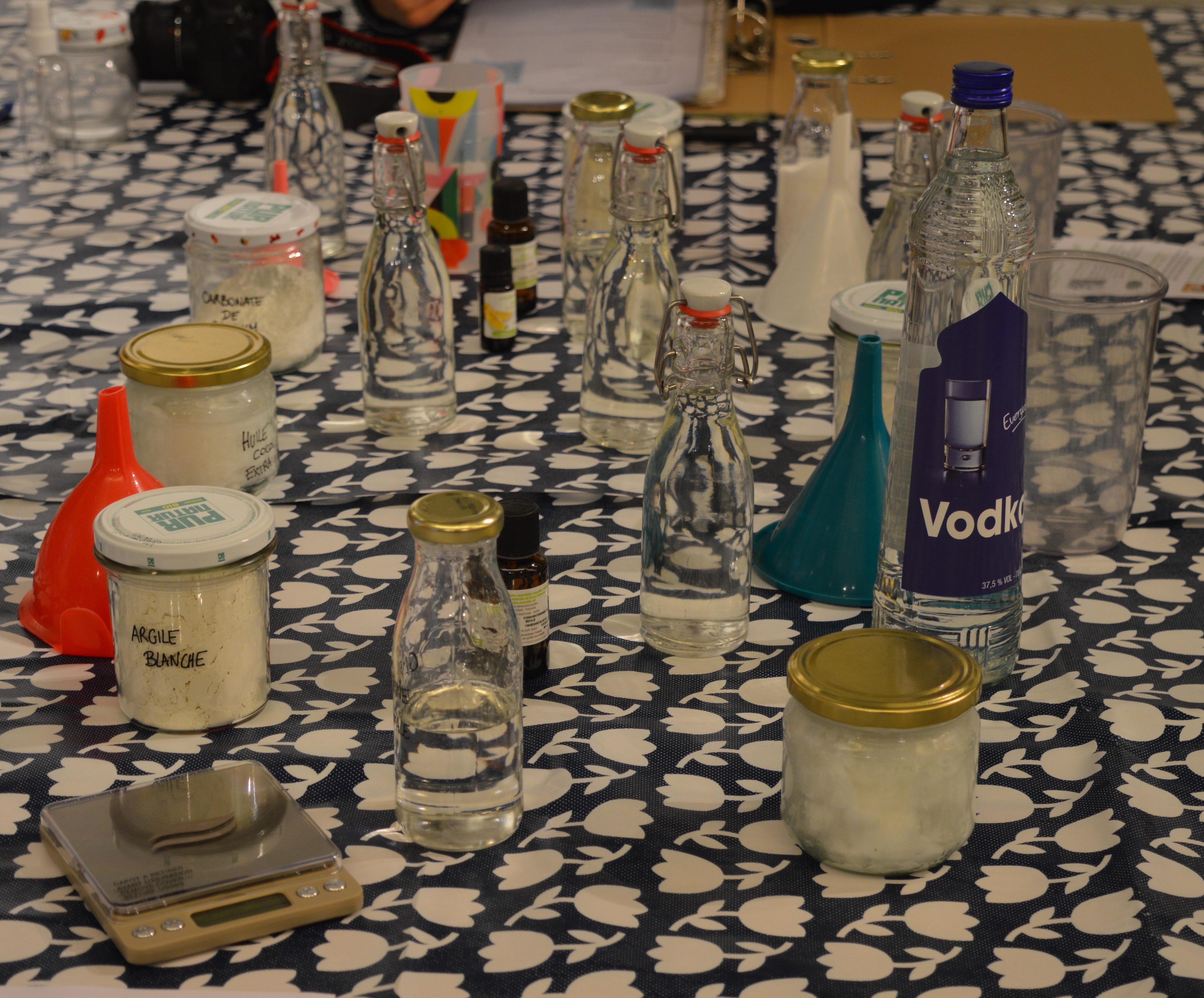 Ateliers hygiène et cosmétique